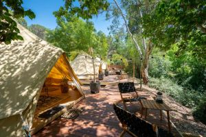 Castlemaine Gardens Luxury Glamping - Accommodation Rockhampton