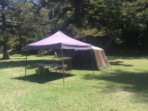 Basin Ku-ring-gai Campsite Set Up - Accommodation Rockhampton